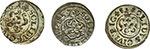 reverse:  Livonia   Lotto di tre solidi: Cristina, Riga 1648, Carl X Gustav, Livonia 1657, Carl XI, Riga 1661.