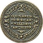 reverse:  Urbano VIII (1623-1644), Maffeo Barberini Medaglia 1625 per l apertura della Porta Santa.