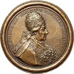 obverse:  Clemente XII (1730-1740), Lorenzo Corsini Medaglia 1730.