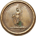 reverse:  Clemente XII (1730-1740), Lorenzo Corsini Medaglia 1730.