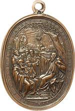 reverse:  Gregorio XVI (1831-1846), Bartolomeo Alberto  Cappellari Medaglia 1831 per l Ospedale Apostolico. Misura 47.4X61 mm.