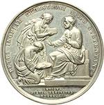 reverse:  Pio IX  (1846-1878), Giovanni Mastai Ferretti Medaglia annuale A.XVII.
