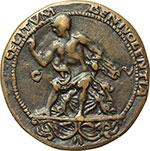 reverse:  Venezia  Agrippa (deceduto nel 12 d.C.) Medaglia.