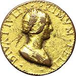 obverse:  Diva Julia (sconosciuta nobildonna del Rinascimento italiano) Medaglia.