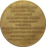 reverse:  Giuseppe Verdi (1813-1901) Medaglia commemorativa per il I anniversario della morte.