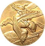 reverse:  Italo Balbo (1896-1940) Medaglia A. XIX, commemorativa per il I anniversario della morte.
