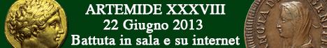 Banner Artemide Aste - Asta XXXVIII