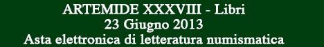 Banner Artemide Aste - Asta XXXVIII - Libri