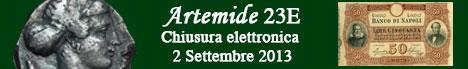 Banner Artemide Aste - Asta  23E