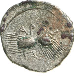 Reverse image of coin 1007