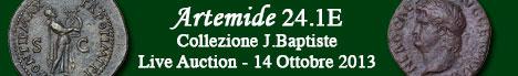 Banner Artemide Aste - 24.1E - Collezione J. Baptiste
