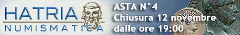 Banner Hatria Numismatica Asta elettronica 4
