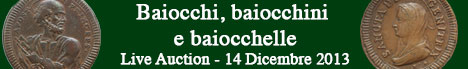 Banner Artemide Aste - Baiocchi, baiocchini e baiocchelle