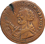 Reverse image of coin 2007