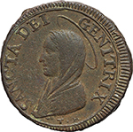 Reverse image of coin 2010