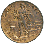 Reverse image of coin 10481