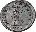 Reverse image of coin 12
