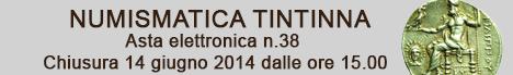 Banner Tintinna - Asta Elettronica 38