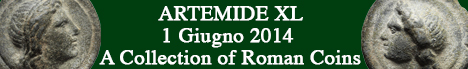Banner Artemide  - A Collection Of Roman Coins