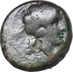 obverse:   AE Unit, Neapolis after 276 BC.