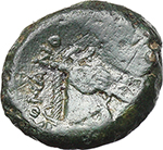 reverse:   AE Half unit, after 276 BC.