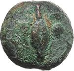 obverse:  Apollo/Apollo series.  AE Uncia, after c. 280 BC.
