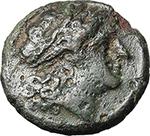 obverse:   Bronze, c. 234-231 BC.