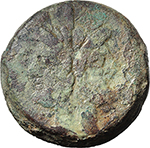 obverse:  Victory series. AE As, Central Italy, c. 211-208 BC.
