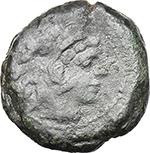 obverse:  Q. Marius. AE Quadrans, c. 189-180 BC.
