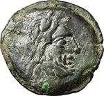obverse:  C. Numitorius (?). AE Semis, 133 BC.