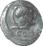 obverse:  C. Considius Paetus. AR Sestertius, 46 BC.