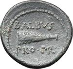 reverse:  Octavian. AE \