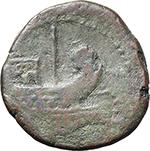 reverse:  Octavian. AE Dupondius, c. 40 BC.