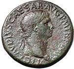 obverse:  Claudius (41-54). AE Sestertius, 41-50 AD.