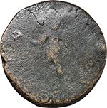 reverse:  Claudius (41-54). AE Sestertius (Dupondius), provincial mint or imitation.