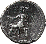reverse:  Nero (54-68). AR Denarius.