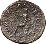 reverse:  Nero (54-68). AE Semis, Lugdunum mint.
