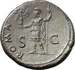reverse:  Vespasian (69-79). AE Sestertius, 37-38 AD.