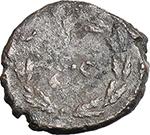 reverse:  Domitian (81-96). AE Quadrans.