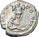 reverse:  Marcus Aurelius (161-180). AR Denarius, 173-174.