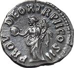 reverse:  Lucius Verus (161-169). AR Denarius, 162-163.