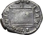 reverse:  Crispina, wife of Commodus (died in 183 AD.). AR Denarius.