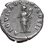 reverse:  Pertinax (193 AD.). AR Denarius.