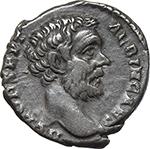 obverse:  Clodius Albinus as Caesar (193-195). AR Denarius, 193 BC.