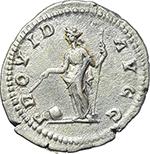 reverse:  Septimius Severus (193-211). AR Denarius, 200-201 AD.