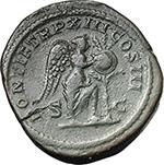reverse:  Caracalla (198-217). AE Dupondius, 210 AD.
