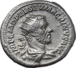 obverse:  Macrinus (217-218). AR Antoninianus.