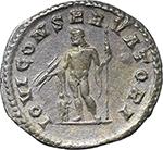 reverse:  Macrinus (217-218). AR Antoninianus.