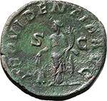 reverse:  Severus Alexander (222-235). AE Sestertius, 231-235 AD.