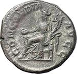 reverse:  Orbiana, wife of Severus Alexander (225-226). AR Denarius.